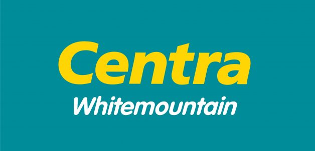 Centra Logo Yellow on Green