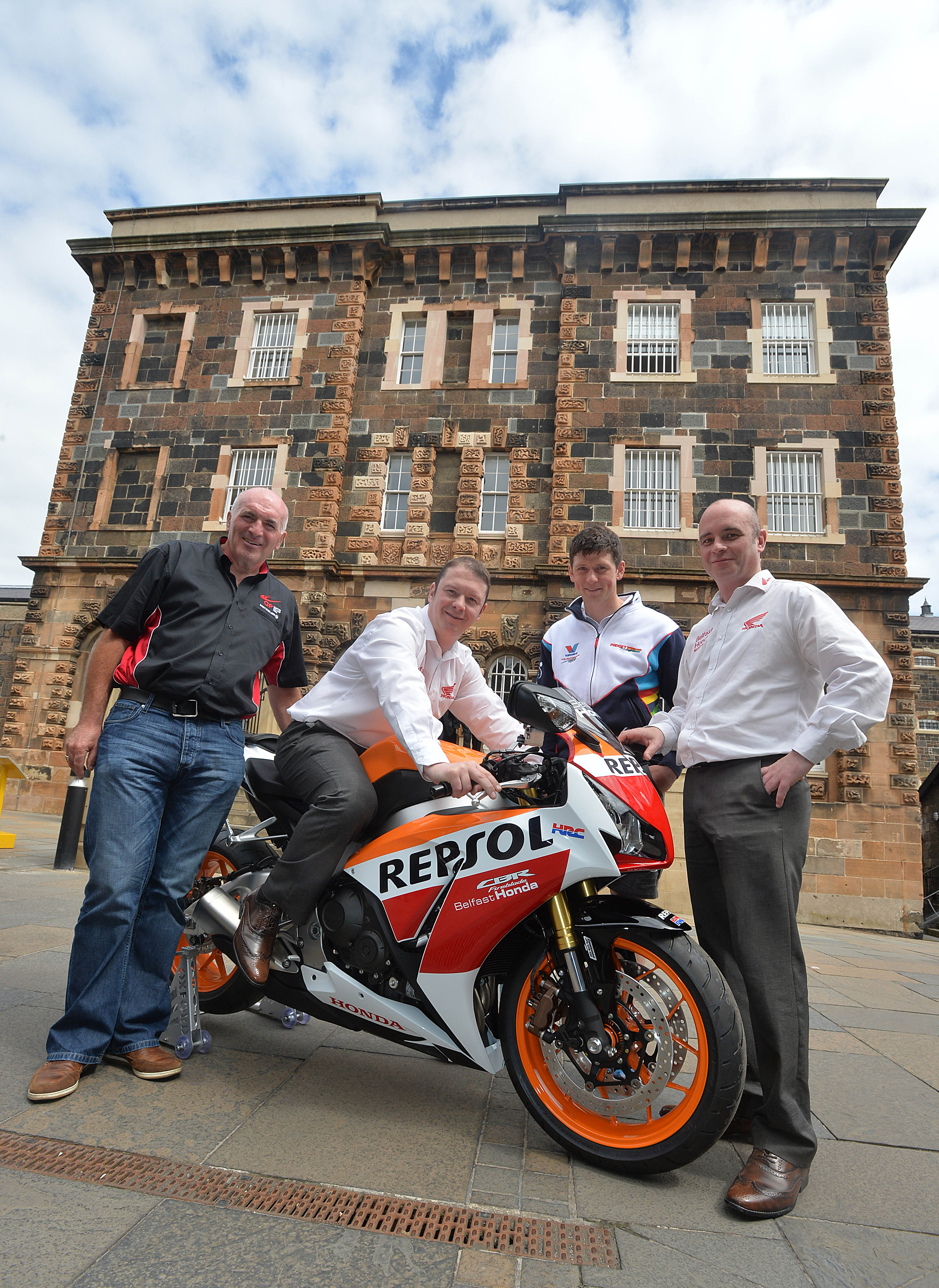 belfast honda joins forces with the metzeler ulster grand prix to