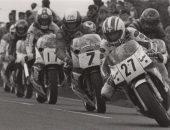 McCallen leading the 1989 Ulster Grand Prix (image courtesy of Belfast Telegraph)